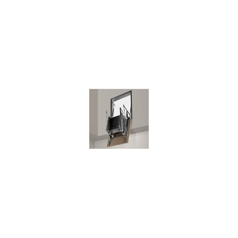 Scala retrattile a parete verticale - Scale a parete ...